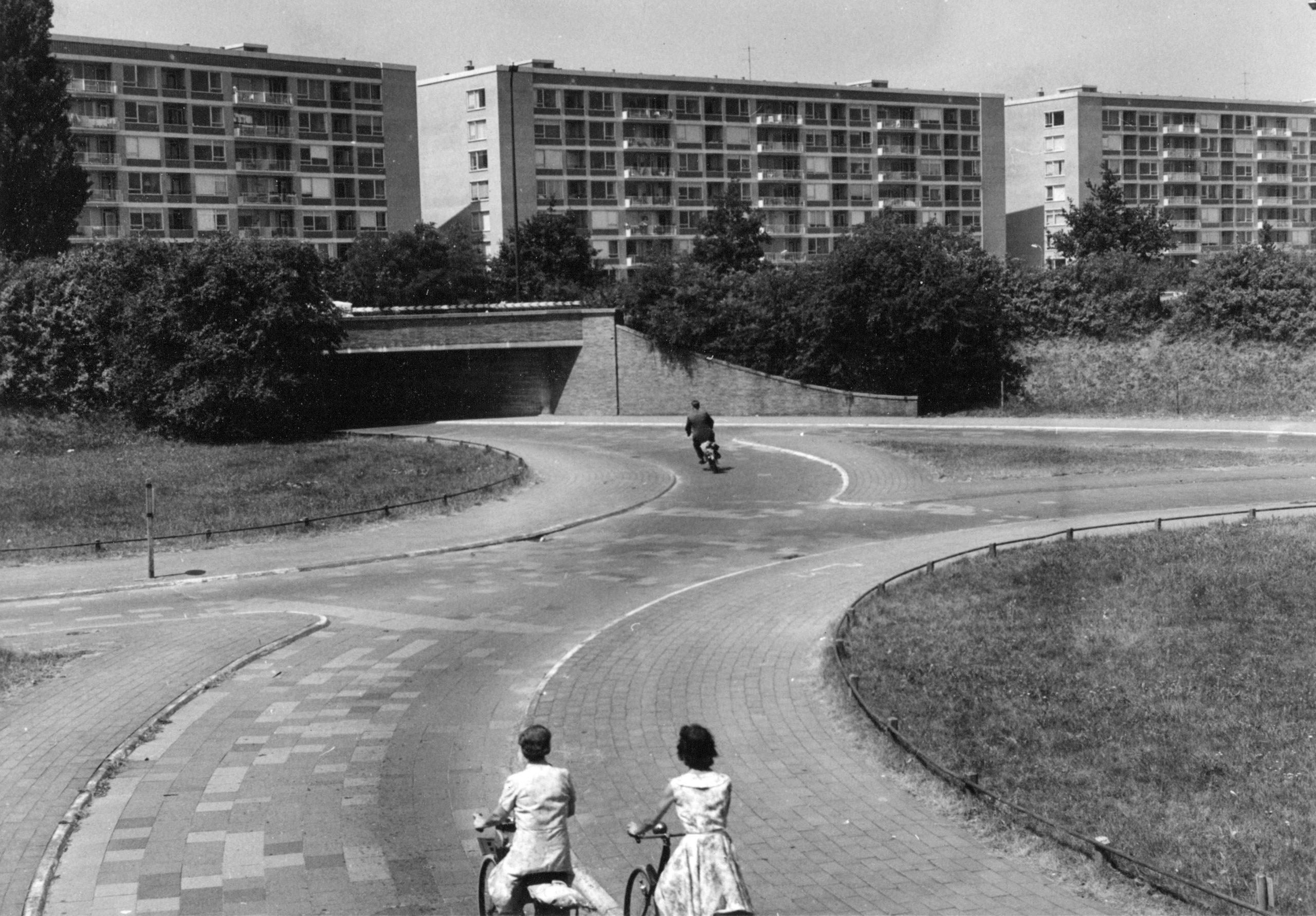 Gezicht op Karel Doormanlaan 1960-1965